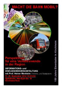 Plakat Monheim Veranstaltung